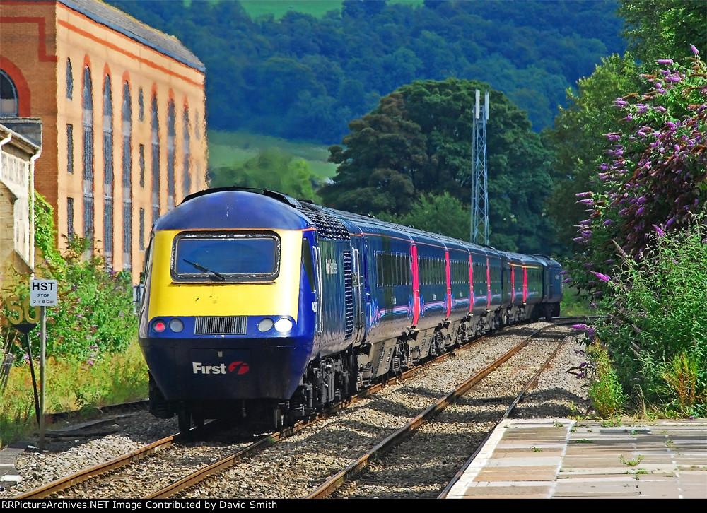 Leaving Stroud.