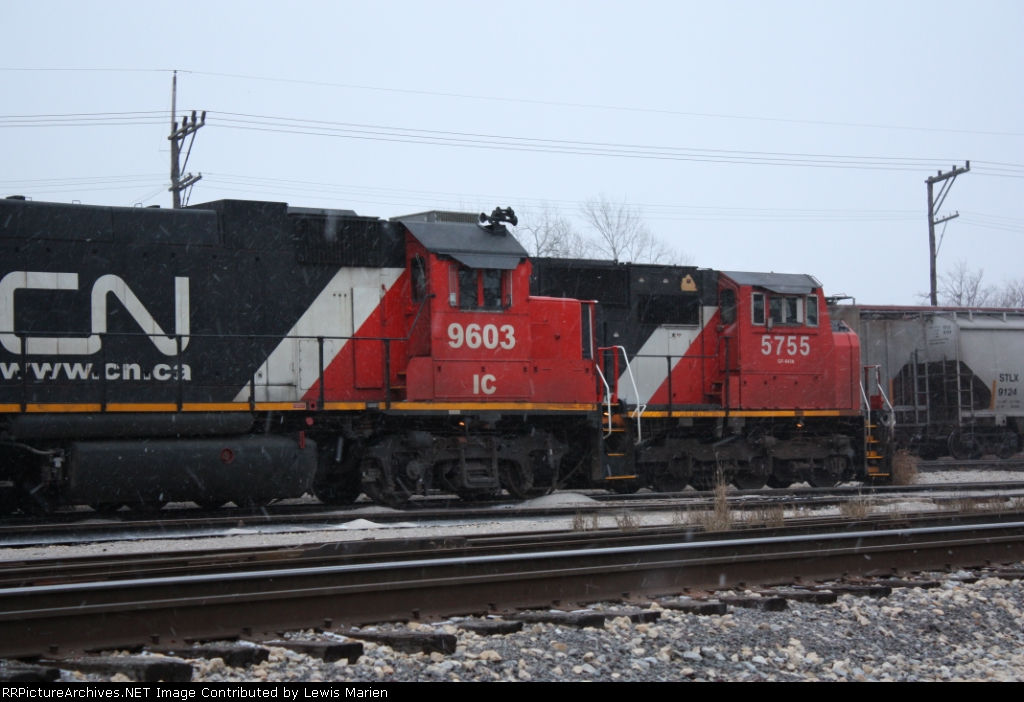IC 9603 and CN 5755