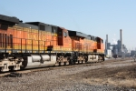 BNSF 7208 and 5105