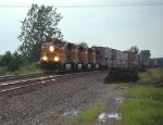 BNSF Intermodal on NS
