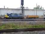 CSX 2735 and UPY 904