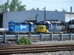 CSX 8817 and 4451