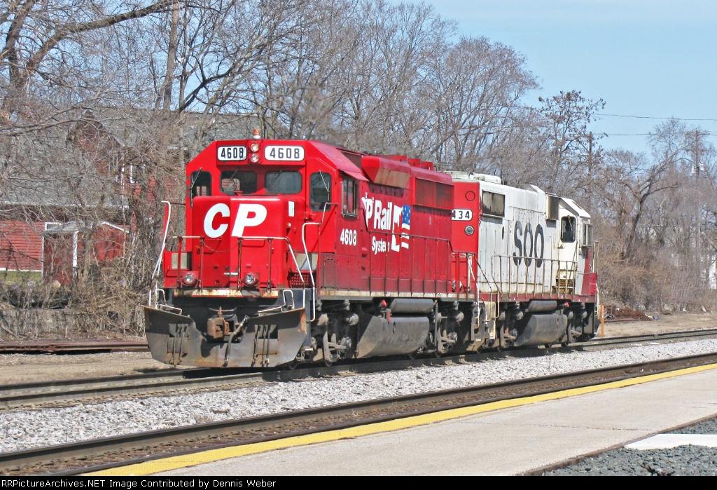 CP 4608,  CP's  Tomah  Sub.