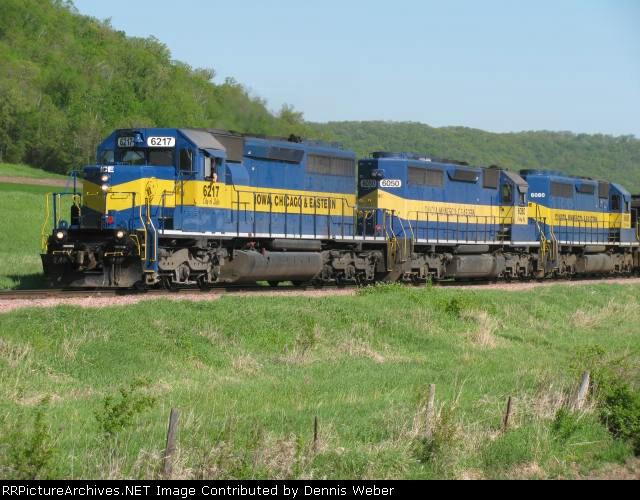 ICE  6217  DM&E  Train 489.