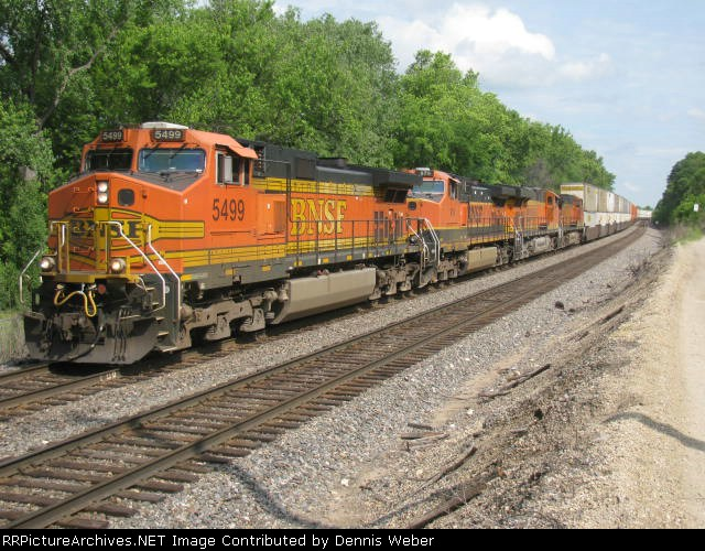 BNSF  EB  Z-Train   St.Croix  Sub.