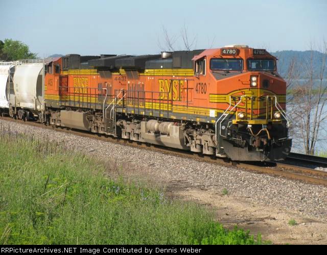 BNSF  4780  Aurora   Sub.