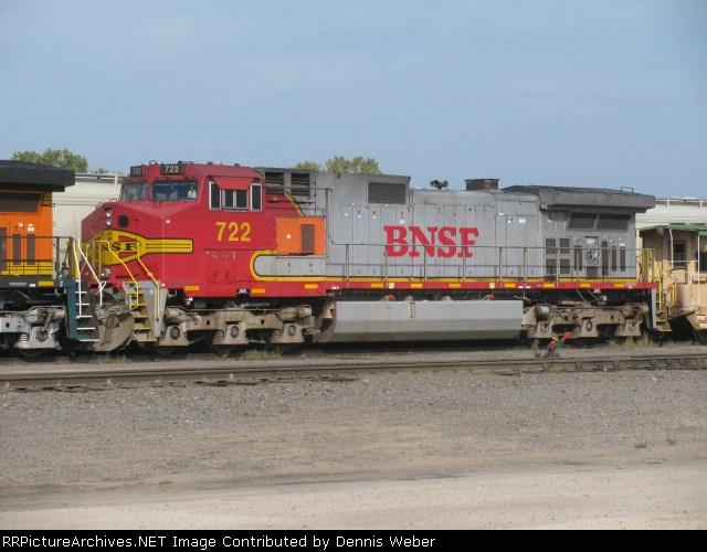 BNSF  722    BNSF's  Aurora  Sub.