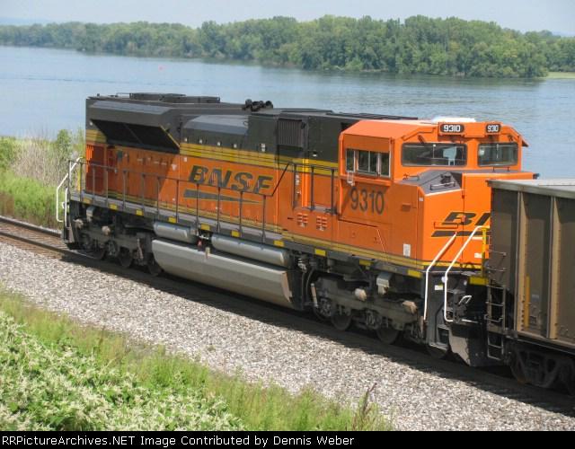 BNSF 9310   CP's   River  Sub.
