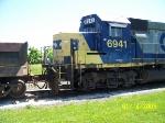 csx gp40-2 6941