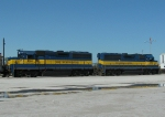 Tied Down ICE Locomotives
