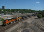 Southbound BNSF Loaded Coal Train DPU's