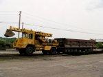 CSX EX-9101 Gradall Track Star and CSX 913800 Difco Dump