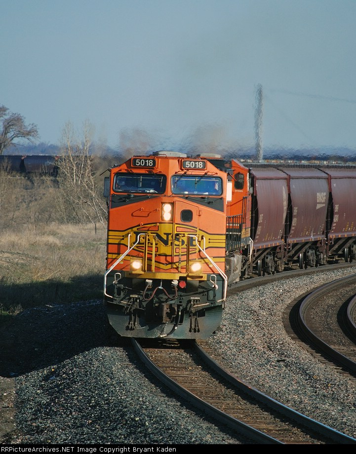 BNSF 5018