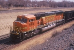 BNSF Coal Train power