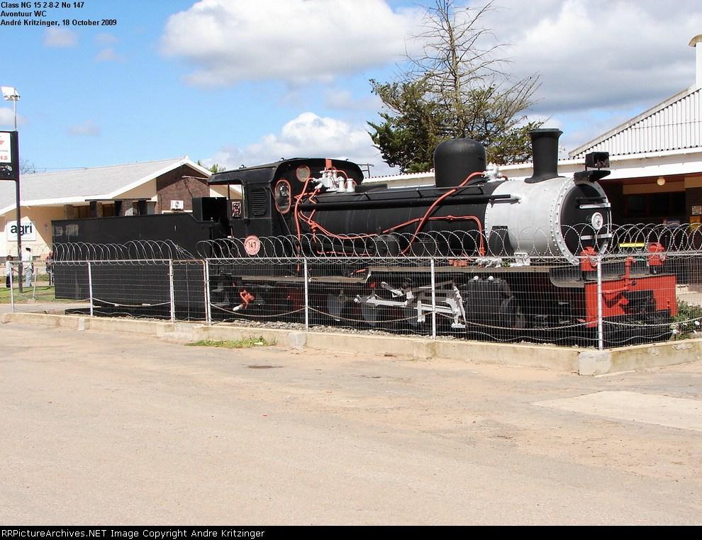 SAR Class NG15 147 (2-8-2)