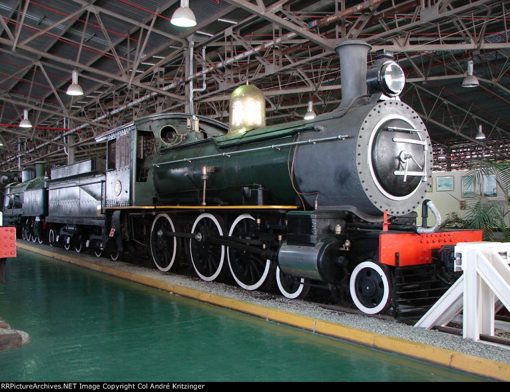 SAR Class 6J 645 (4-6-0)