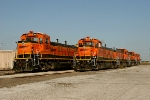 BNSF 1280 and BNSF 1275