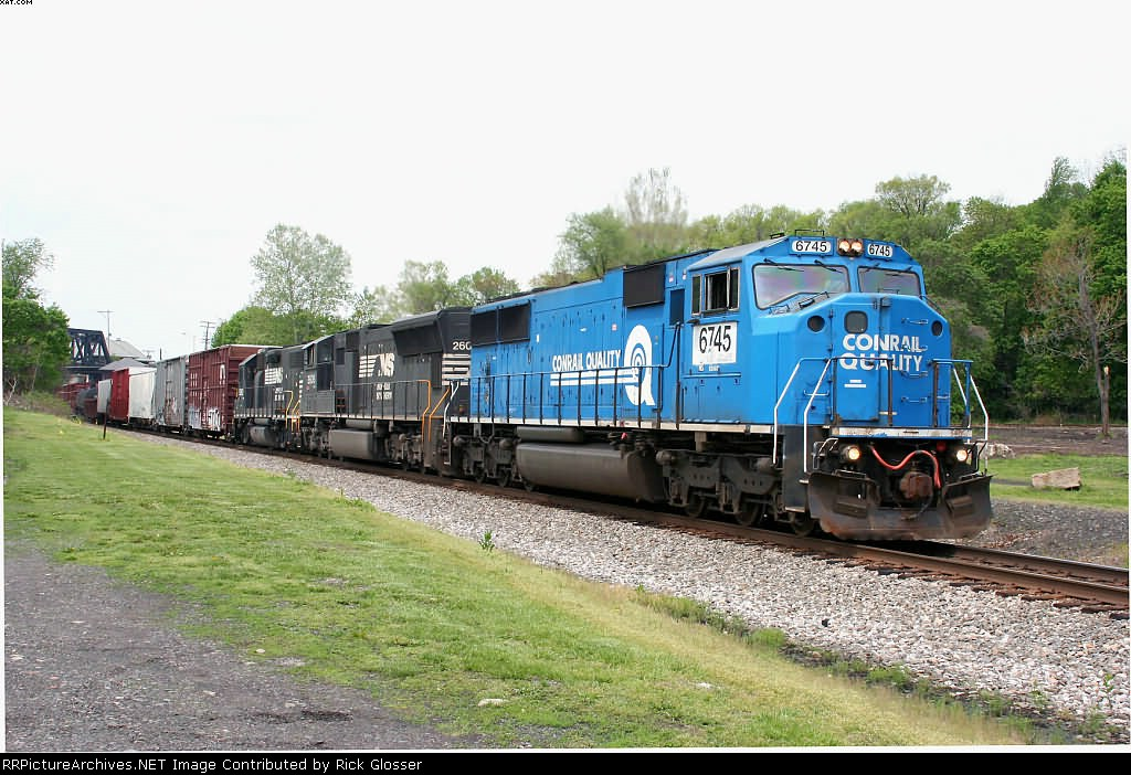 Eastbound 18G With EMD Lashup