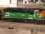 BNSF 3162 Performing Yard Duties