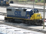 CSX 2773 and 1506 in the distance