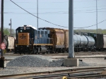 CSX 1309 works the west end of Barr Yard