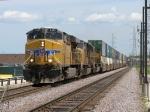 UP 5485 rolls west with KG1SE