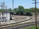 NS 8394 leads 34J past Dolton Tower