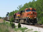 BNSF 5803 & KCS 4689 lead C716 eastward