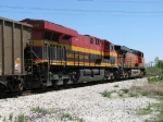 KCS 4689 & BNSF 5803