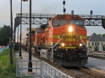 BNSF 4870 leads two more Dash-9's west with an intermodal