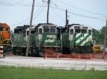 BNSF 2931, 2108 & 2903