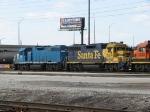BNSF 2204 & EMDX 791