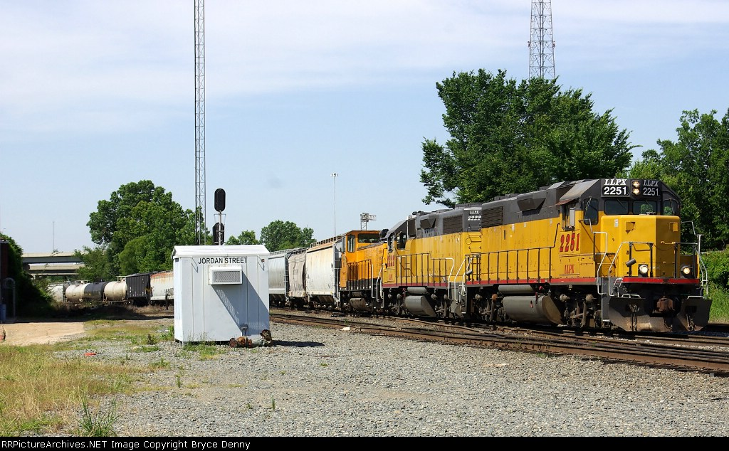 LLPX 2222, 2251 AND RSSX 103 ON UP LOCAL