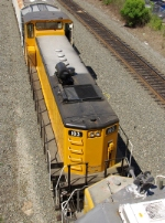 Overhead view of RSSX 103, Environmentally Friendly Switcher
