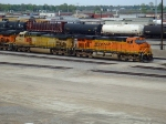 BNSF 7614 and 4437