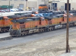 BNSF 5106 and 5455