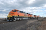 BNSF 7294 leads the Z PTL-CHI with BNSF 7297/7296 all Brand new ES44DC's.