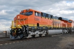 BNSF 7294 close up as she rolls toward Hauser, Idaho for a crew swap.