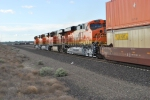 The Z PTL-CHI pulls out of BNSF Pasco north yd with BNSF 7294/7297/7631/and 7296 as the locomotive consist.