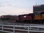 HLCX 3852 Passes Purina as Night Falls