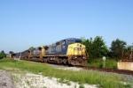 Q534 northbound at L&N Depot 7/25/09