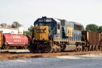 CSX 2486 in the Memphis Jct. Yard 7/27/09