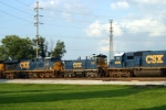 CSX 1115 on Q574 north passing Memphis Jct. Yard 7/27