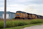 Q275 arrives at Memphis Jct. Yard with UP Power leading 7/28/09