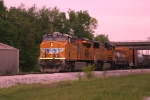 UP 7763 is on the point of CSX Q275 working the Memphis Jct. Yard 5/4/09