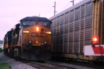CSX 5311 in the Morgantown siding 5/4/09