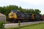 CSX 15/223 lead Q275 south near Memphis Jct. 5/10/2009