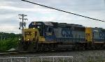 CSX GP40-2 6941 is on J765 along Creason Drive 5/22/09