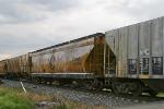 CSX 254535 in worn Chessie System paint on southbound CSX R647 5/22/09