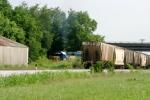 CSX 6066 shoves J756 back into the yard as G293 sits on the Main at Memphis Jct. Yard